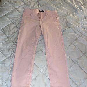 Pink Calvin Klein jeans
